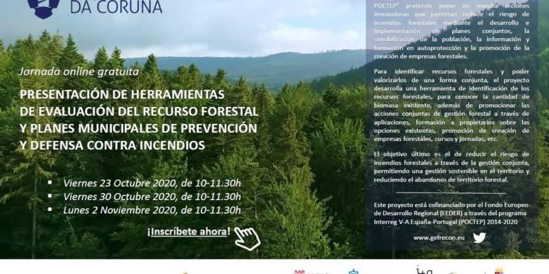 Diputación da Coruña inicia las jornadas de presentación de las herramientas del proyecto GEFRECON